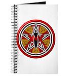 Red Goddess Pentacle Journal