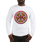 Red Goddess Pentacle Long Sleeve T-Shirt