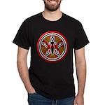 Red Goddess Pentacle Dark T-Shirt