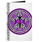 Purple Goddess Pentacle Journal