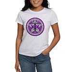 Purple Goddess Pentacle Women's T-Shirt