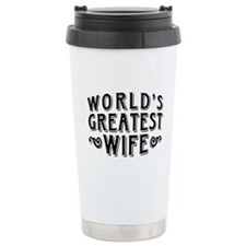 World's Greatest Wife Travel Mug