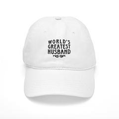 World's Greatest Husband Baseball Cap
