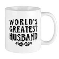 World's Greatest Husband Small Mug