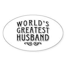 World's Greatest Husband Decal