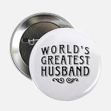 "World's Greatest Husband 2.25"" Button"