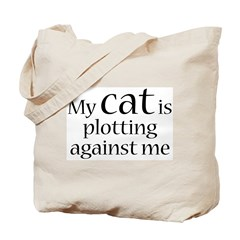 Devious Kitty Tote Bag