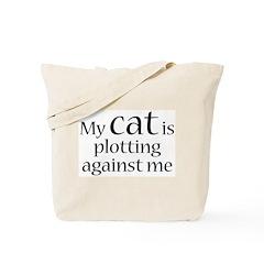 Devious Kitty Tote Bag