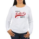 World's Hottest Wife Women's Long Sleeve T-Shirt