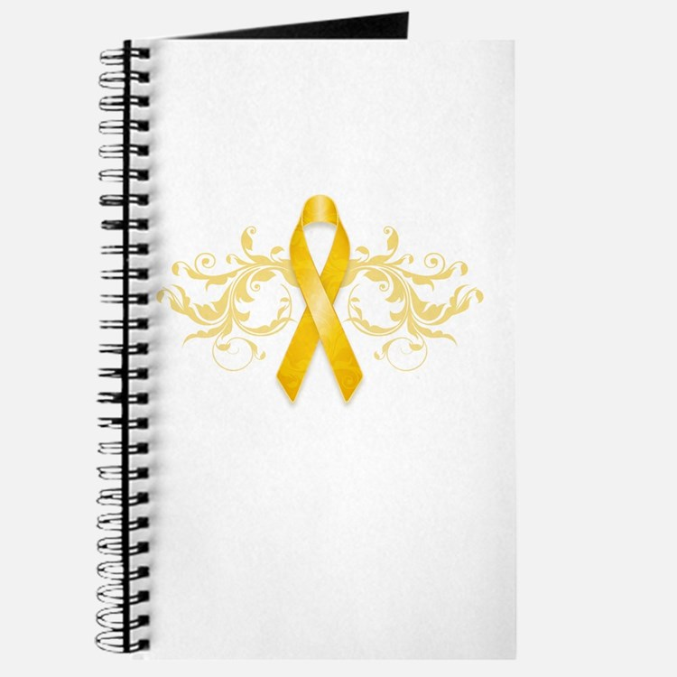 Gold Ribbon Journal