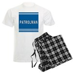 Patrolman Blues Men's Light Pajamas