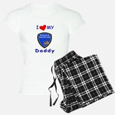 I Love Police Officer Daddy Pajamas