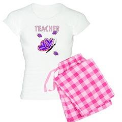 Teacher Butterfly Pajamas