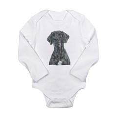 NBlu Portrait Long Sleeve Infant Bodysuit