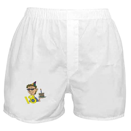 18th Birthday Boxer Shorts