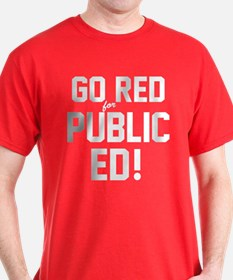 GO RED: T-Shirt