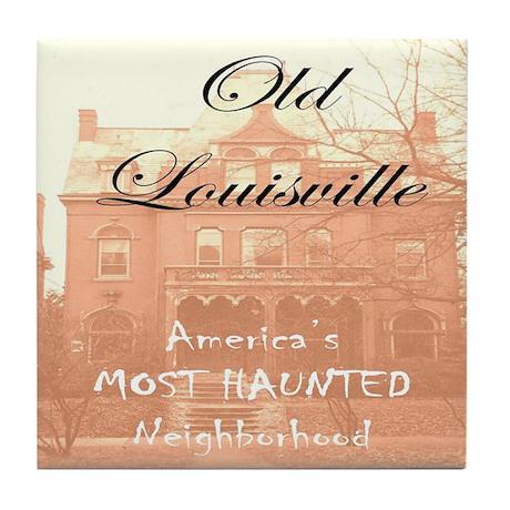 America's Most Haunted Neighborhood Tile Coaster