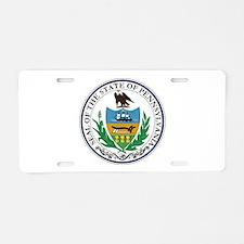 Coat of Arms Aluminum License Plate