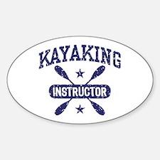 Kayaking Instructor Decal