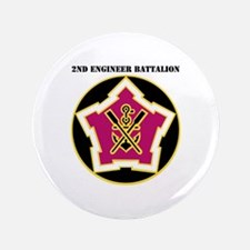 "DUI - 2nd Engineer Bn with Text 3.5"" Button"