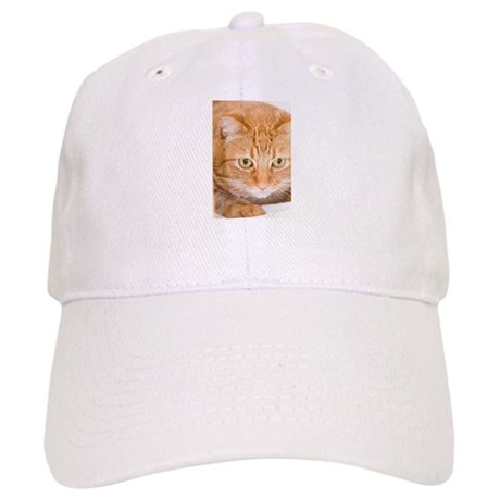 Orange Cat Cap