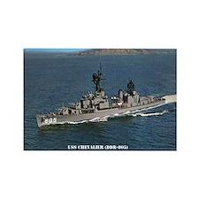 USS CHEVALIER Rectangle Magnet