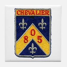 USS CHEVALIER Tile Coaster