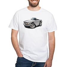 Triumph TR6 White Car Shirt