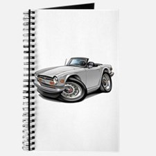 Triumph TR6 White Car Journal