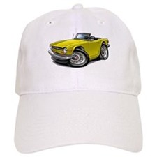 Triumph TR6 Yellow Car Baseball Cap