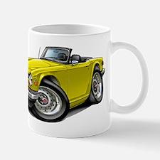 Triumph TR6 Yellow Car Mug
