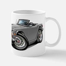 Triumph TR6 Silver Car Mug
