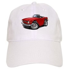 Triumph TR6 Red Car Baseball Cap