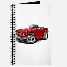 Triumph TR6 Red Car Journal