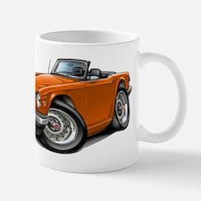 Triumph TR6 Orange Car Mug