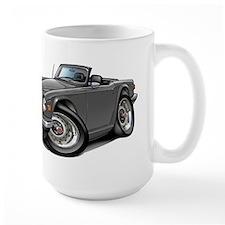 Triumph TR6 Grey Car Mug