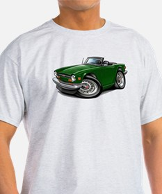Triumph TR6 Green Car T-Shirt