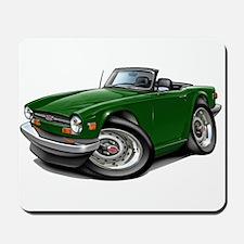 Triumph TR6 Green Car Mousepad