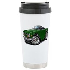 Triumph TR6 Green Car Travel Mug