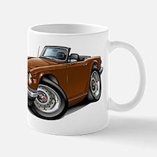 Triumph TR6 Brown Car Mug