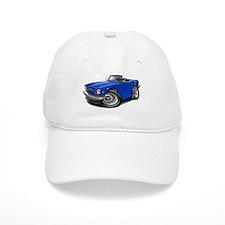 Triumph TR6 Blue Car Baseball Cap