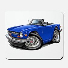 Triumph TR6 Blue Car Mousepad