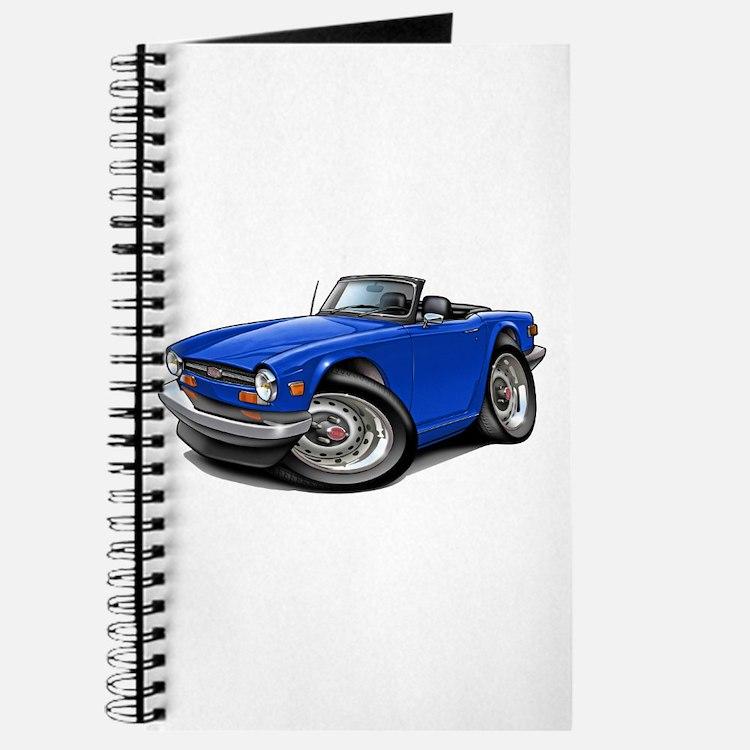 Triumph TR6 Blue Car Journal