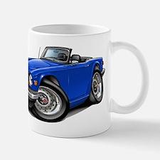 Triumph TR6 Blue Car Small Small Mug