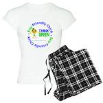 Eco-Chick Go Green Women's Light Pajamas