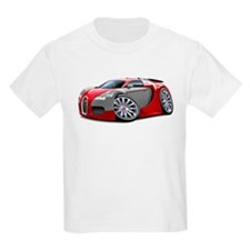 Veyron Red-Grey Car T-Shirt