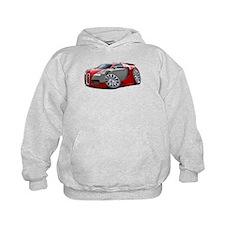 Veyron Red-Grey Car Hoodie