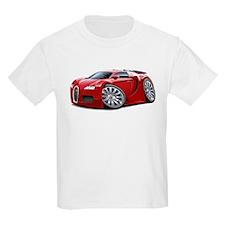 Veyron Red Car T-Shirt