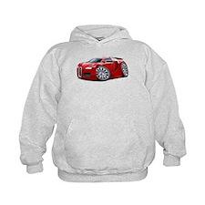 Veyron Red Car Hoodie