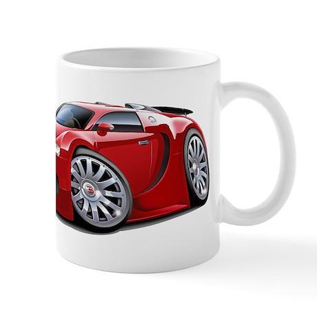 Veyron Red Car Mug